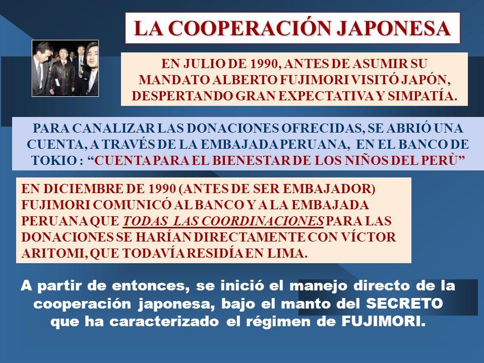 LA COOPERACIÓN JAPONESA