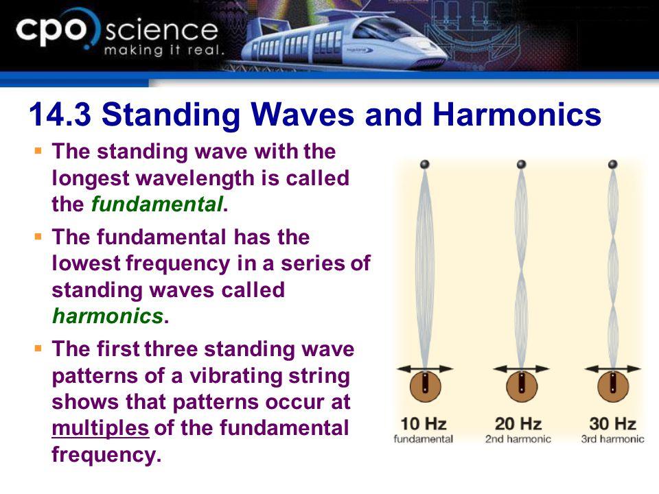 14.3 Standing Waves and Harmonics