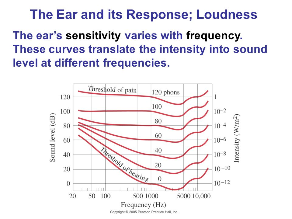 The Ear and its Response; Loudness