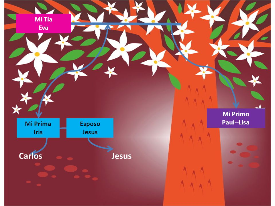 Mi Tia Eva Mi Primo Paul--Lisa Mi Prima Iris Esposo Jesus Carlos Jesus