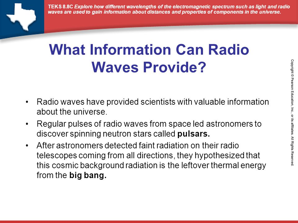 What Information Can Radio Waves Provide