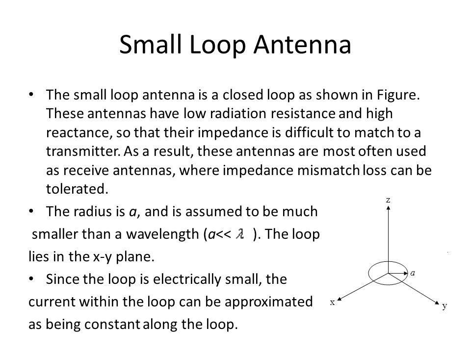 Small Loop Antenna