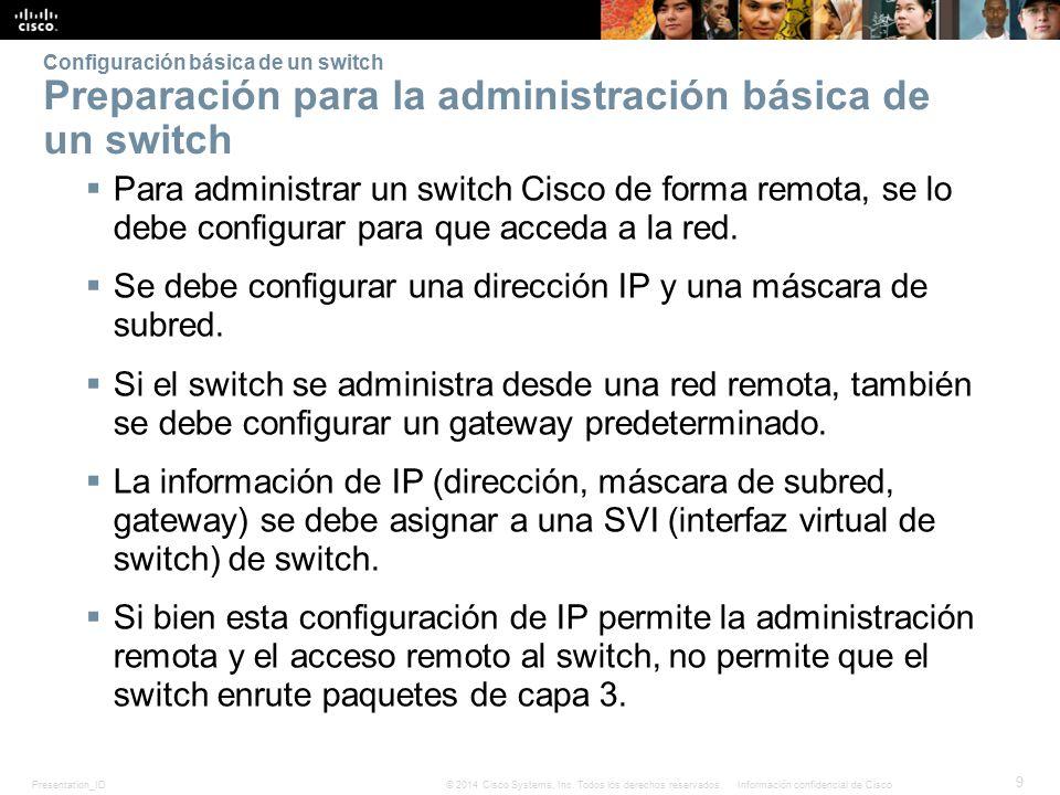 Se debe configurar una dirección IP y una máscara de subred.