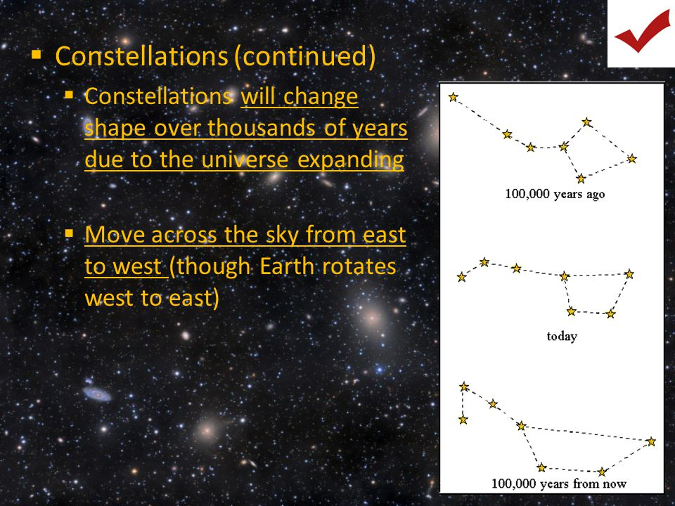 Constellations (continued)