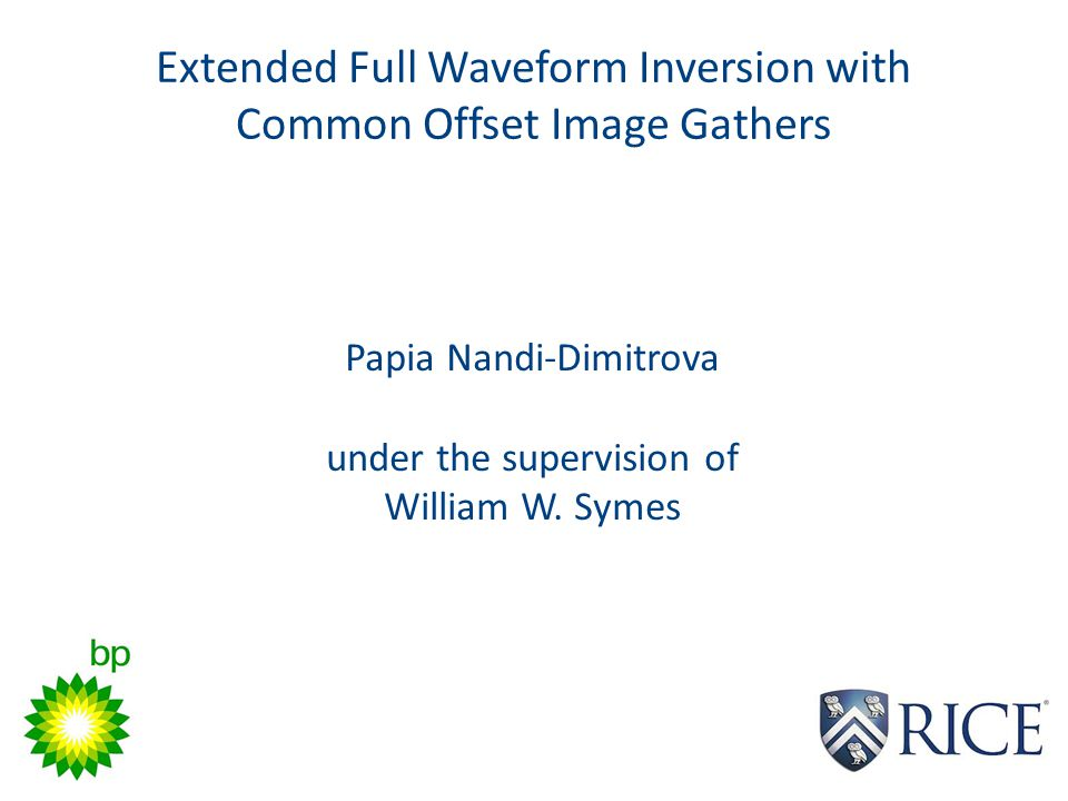 Extended Full Waveform Inversion with Common Offset Image Gathers