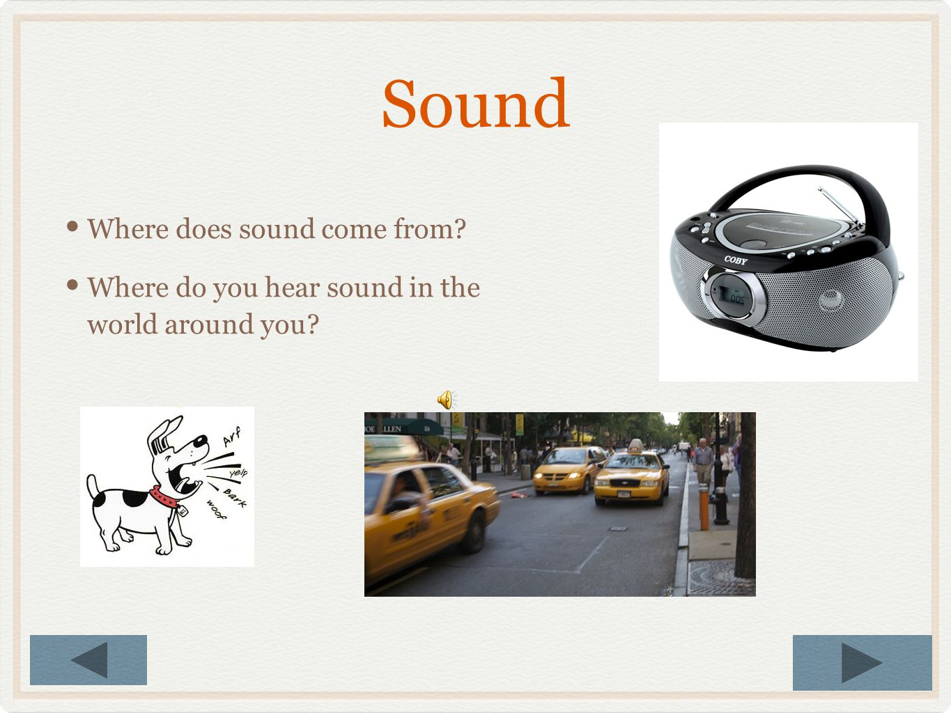 How Does Sound Travel Through Air To Reach Your Ear