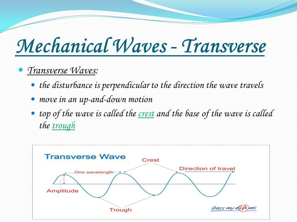 Mechanical Waves - Transverse