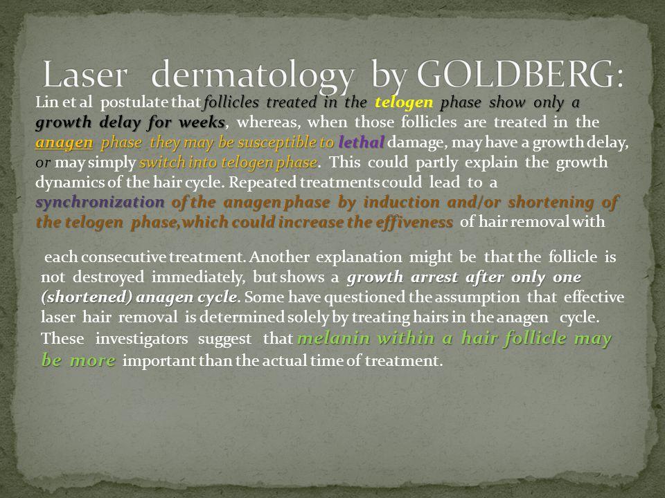 Laser dermatology by GOLDBERG: