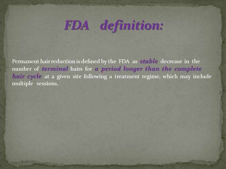 FDA definition: