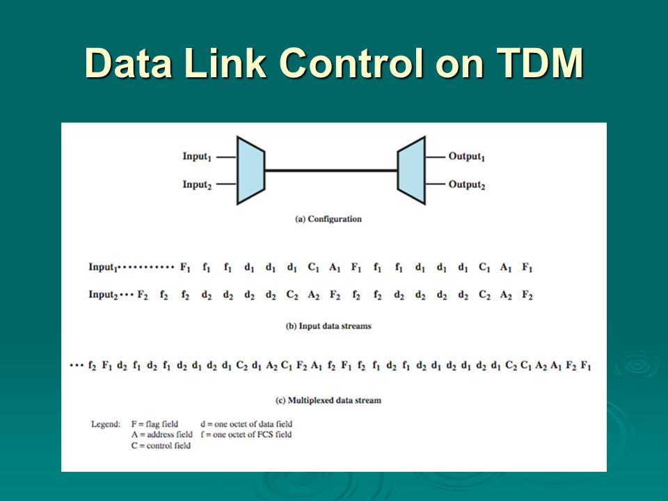 Data Link Control on TDM
