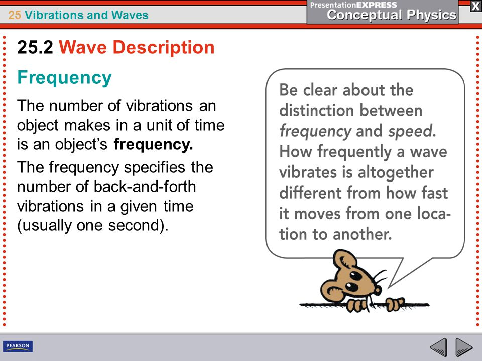 25.2 Wave Description Frequency