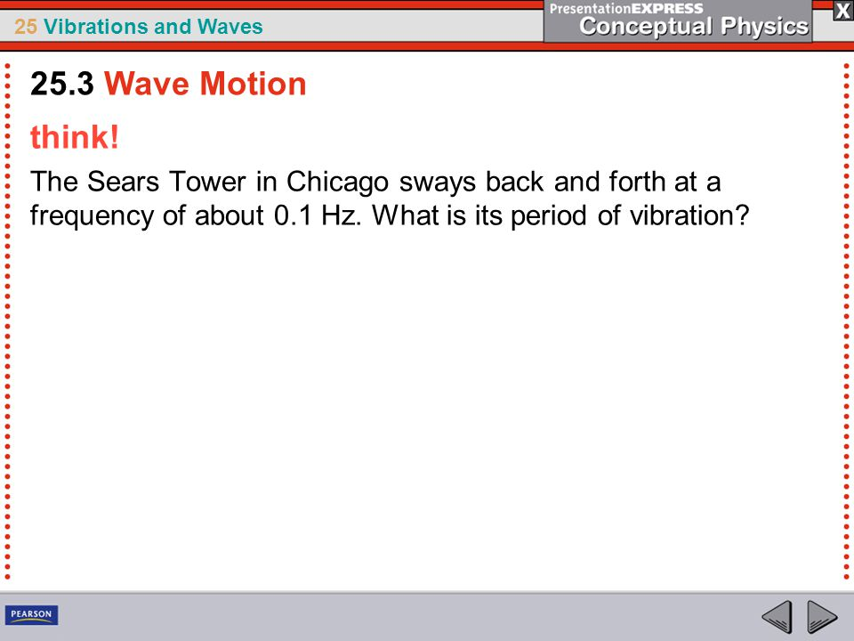 25.3 Wave Motion think.