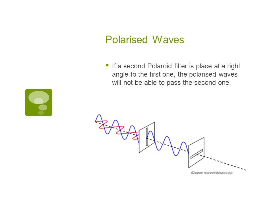 Polarised Waves