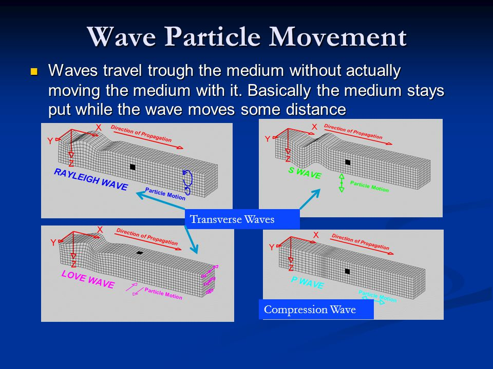 Wave Particle Movement