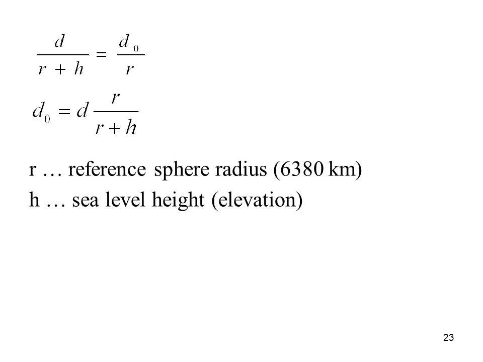 r … reference sphere radius (6380 km)