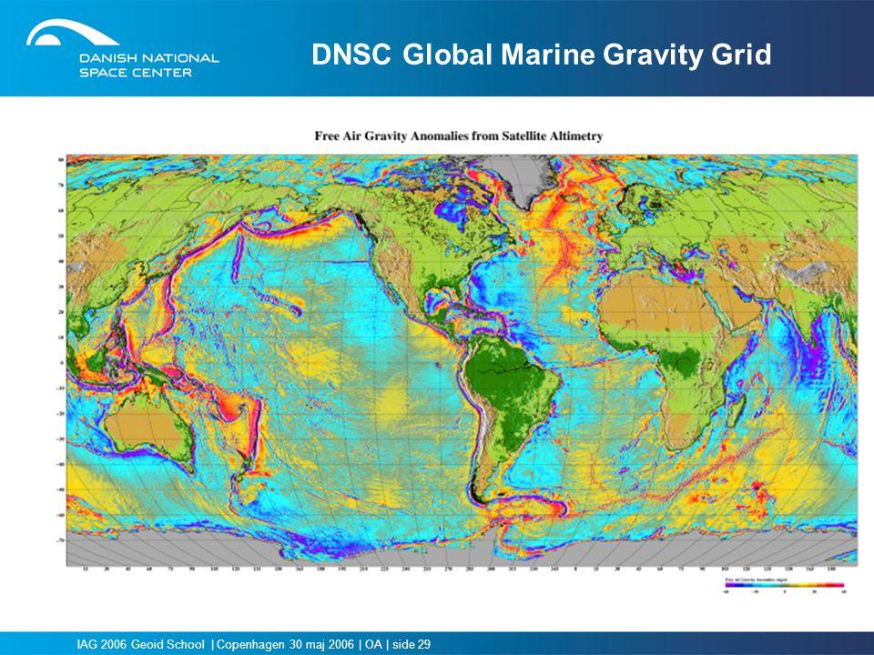 DNSC Global Marine Gravity Grid