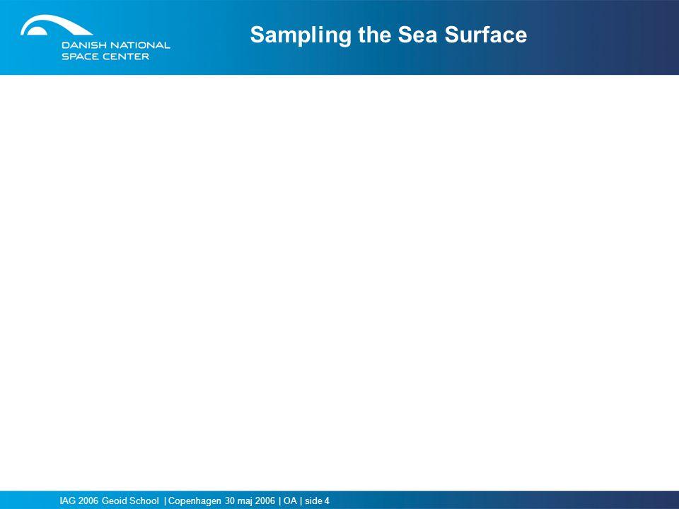 Sampling the Sea Surface