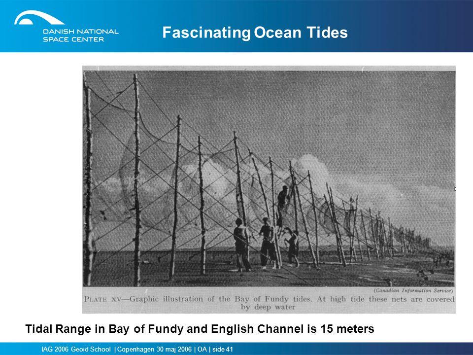 Fascinating Ocean Tides