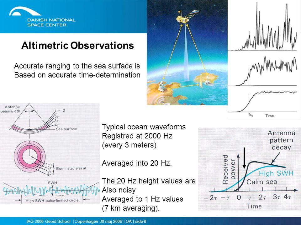 Altimetric Observations