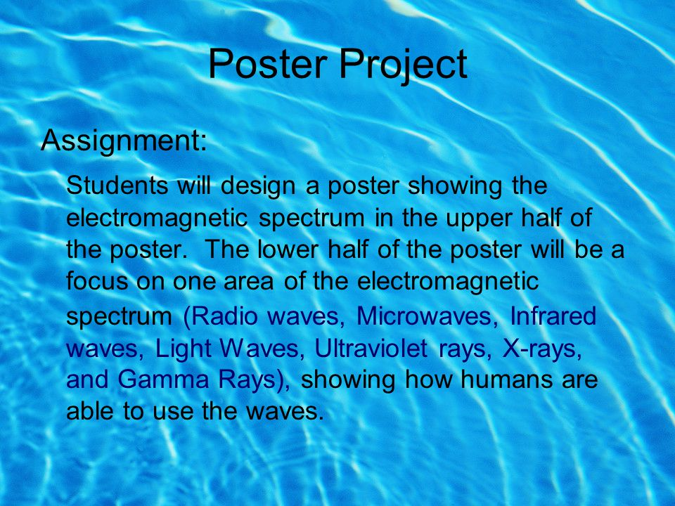 Poster Project Assignment: