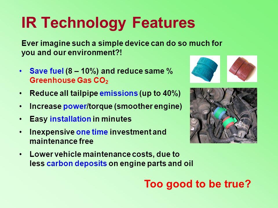 IR Technology Features
