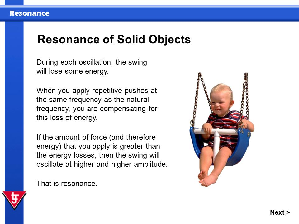 Resonance of Solid Objects