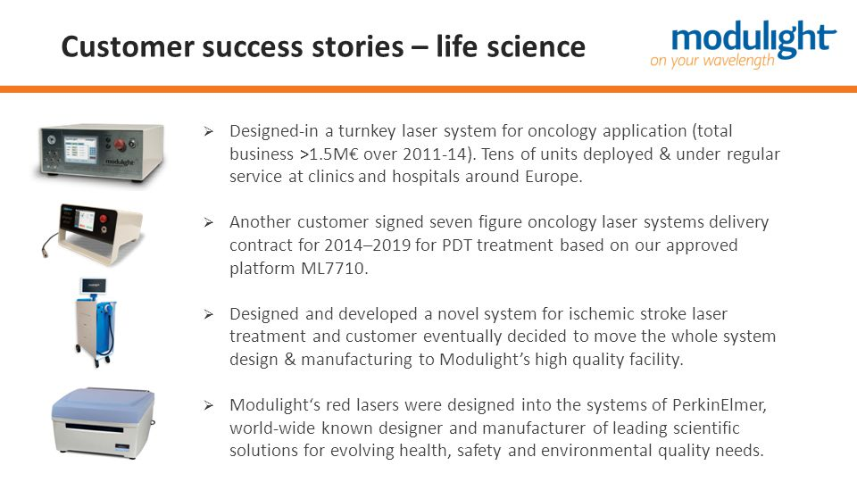 Customer success stories – life science