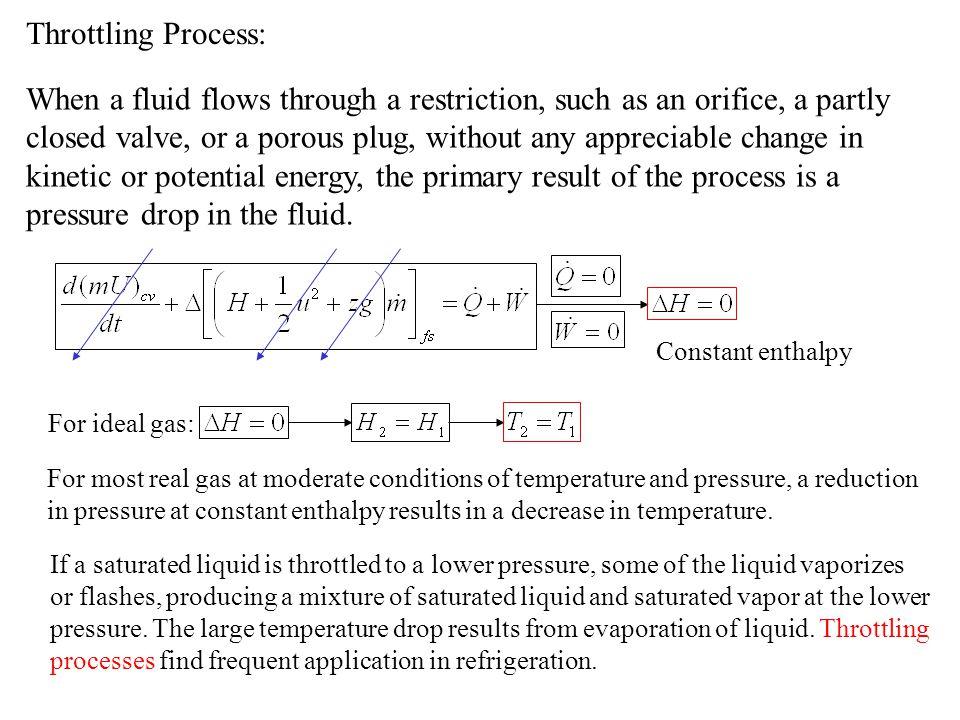 Throttling Process: