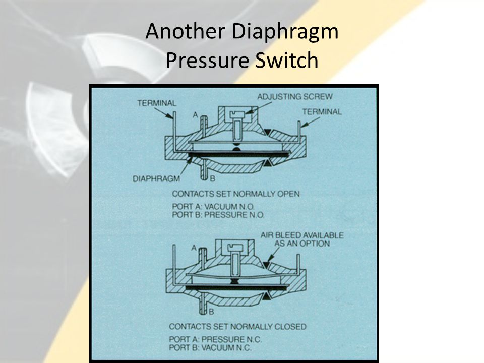 Another Diaphragm Pressure Switch
