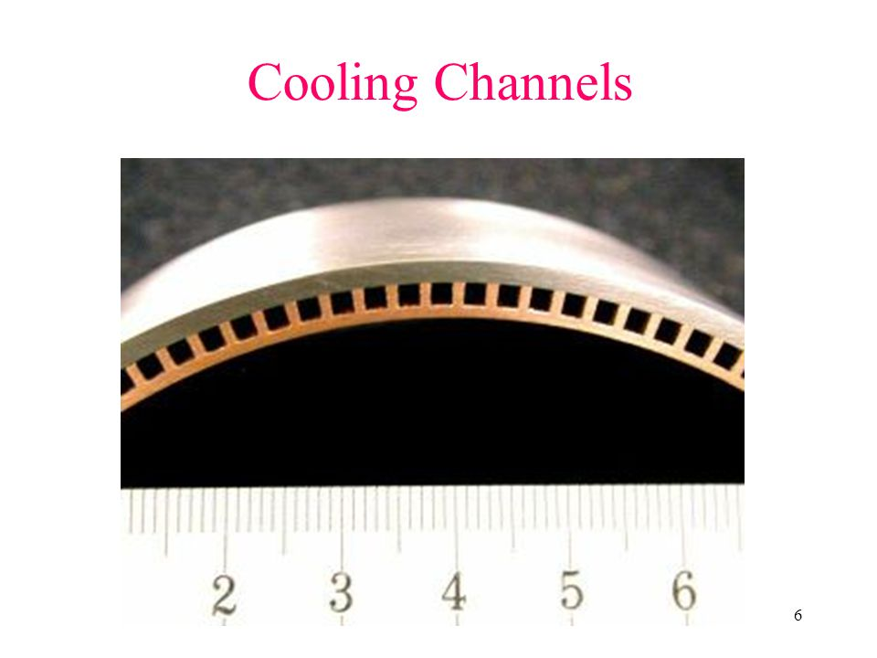 Cooling Channels