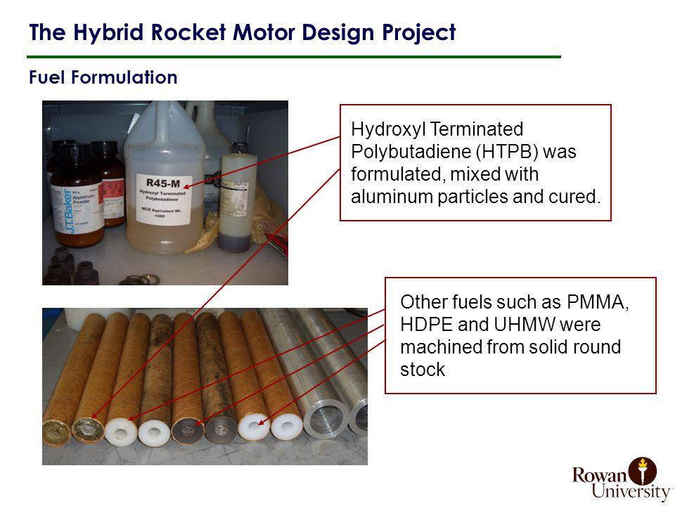 The Hybrid Rocket Motor Design Project