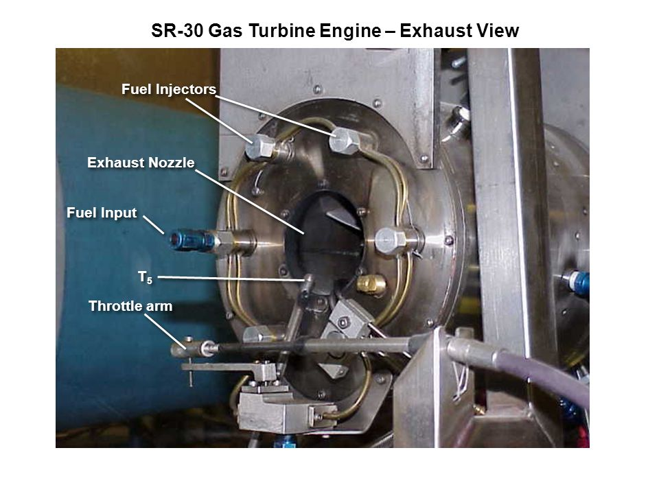 SR-30 Gas Turbine Engine – Exhaust View