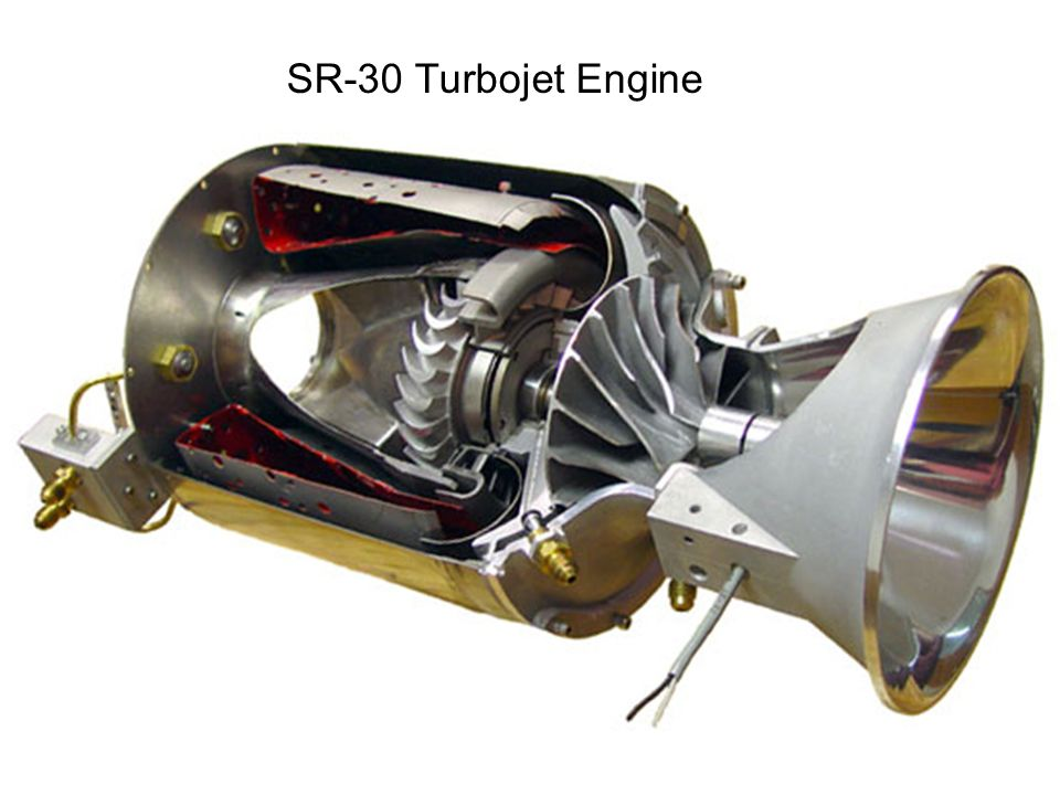 SR-30 Turbojet Engine