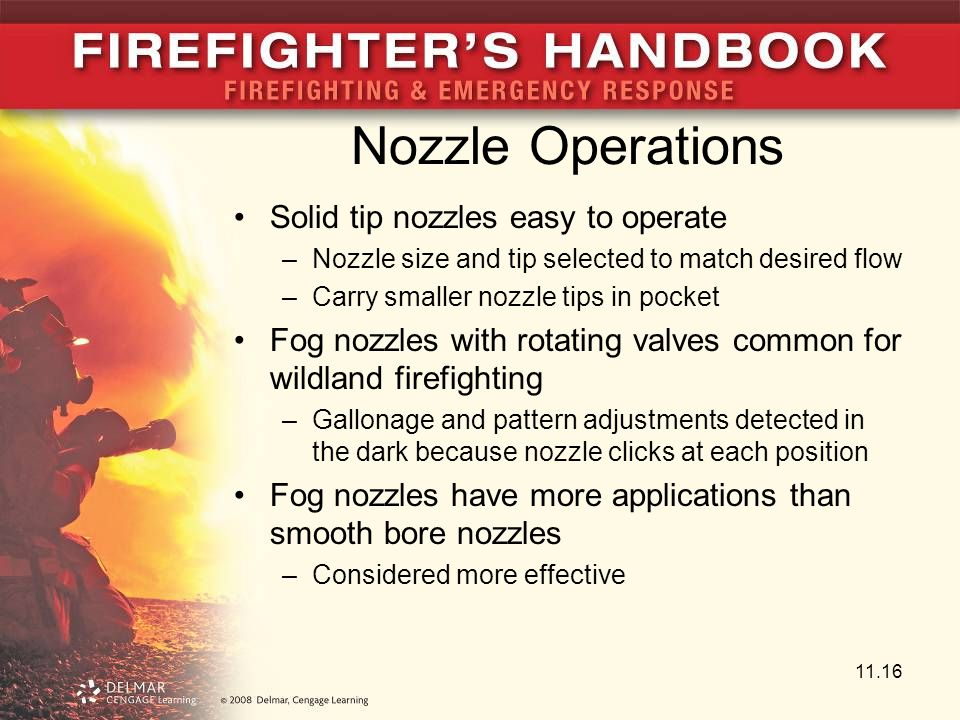 Nozzle Operations Solid tip nozzles easy to operate