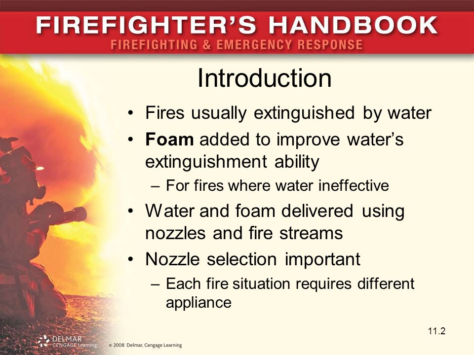 Introduction Fires usually extinguished by water