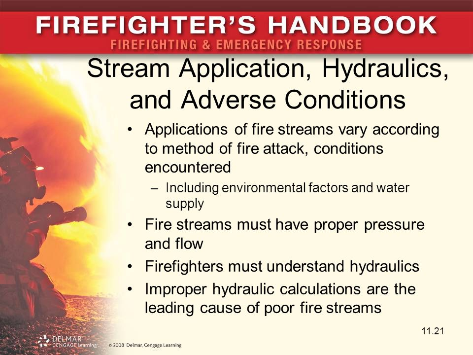 Stream Application, Hydraulics, and Adverse Conditions