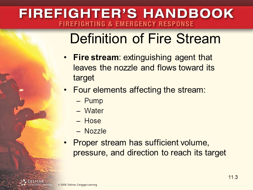 Definition of Fire Stream