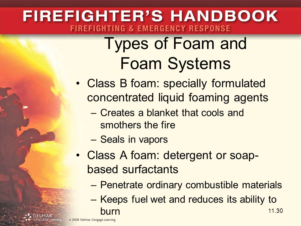Types of Foam and Foam Systems