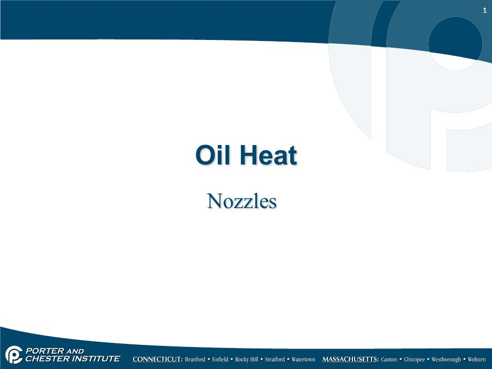 Oil Heat Nozzles
