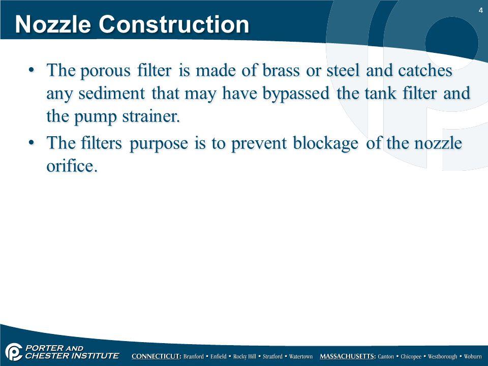 Nozzle Construction