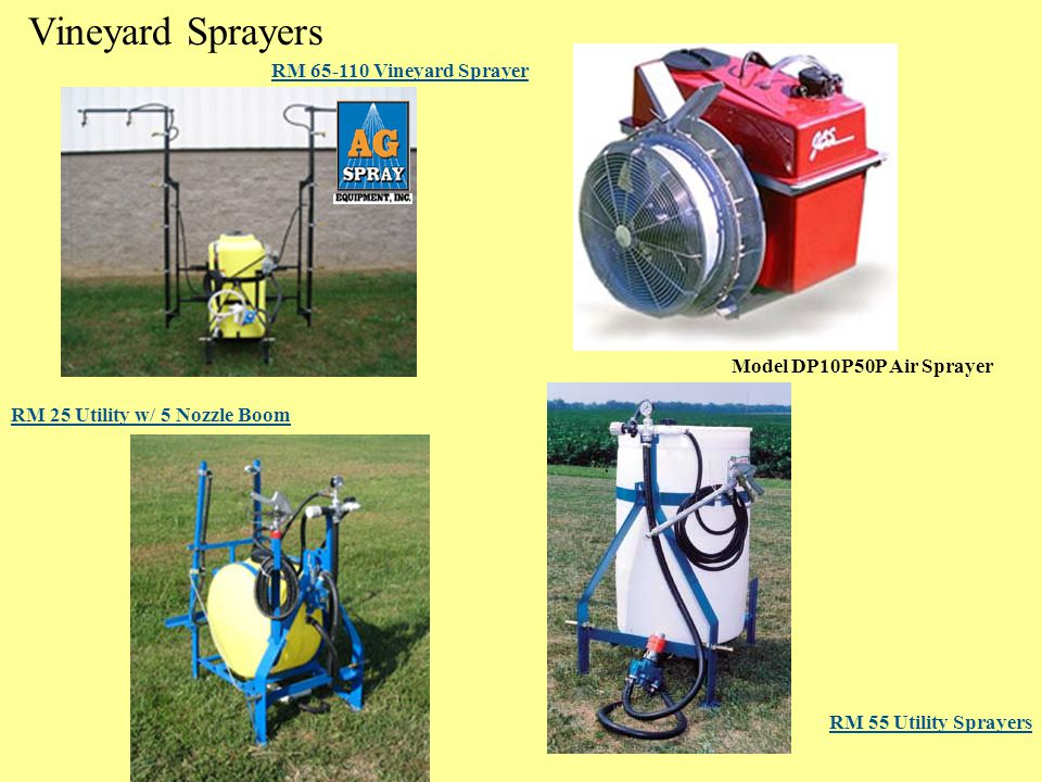Vineyard Sprayers RM 65-110 Vineyard Sprayer