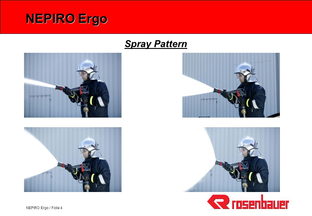 NEPIRO Ergo Spray Pattern