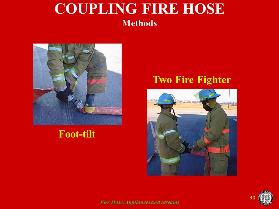 COUPLING FIRE HOSE Methods