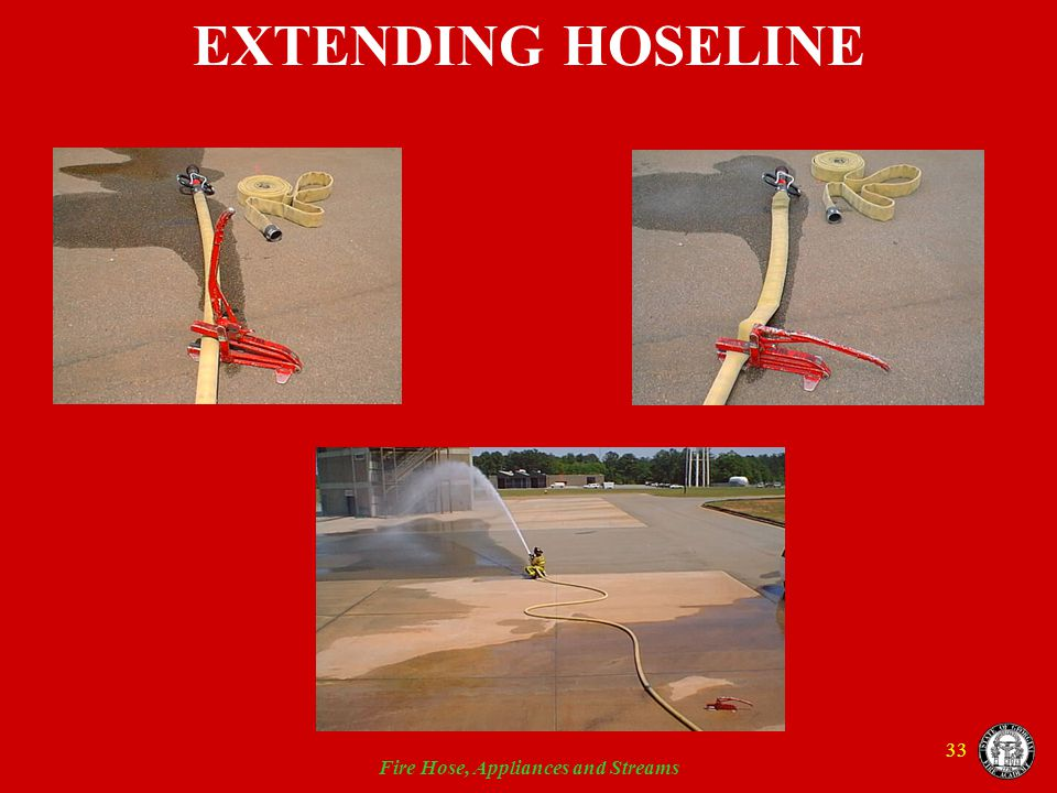 Fire Hose, Appliances and Streams