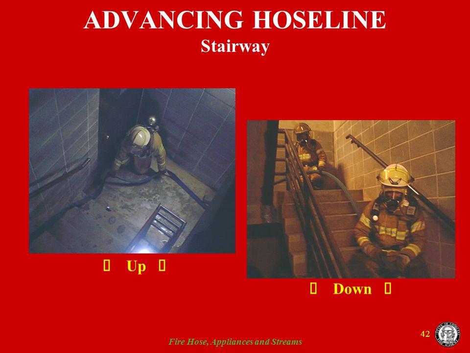 ADVANCING HOSELINE Stairway