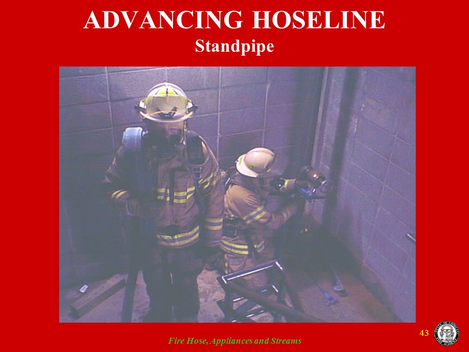 ADVANCING HOSELINE Standpipe