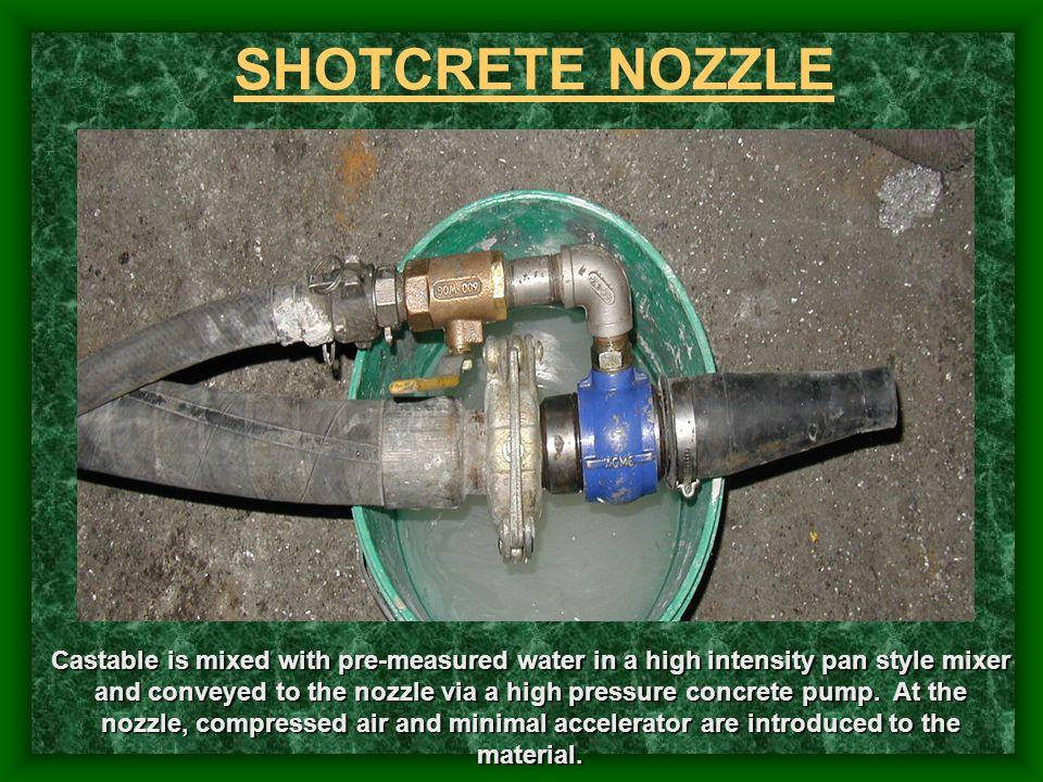 SHOTCRETE NOZZLE
