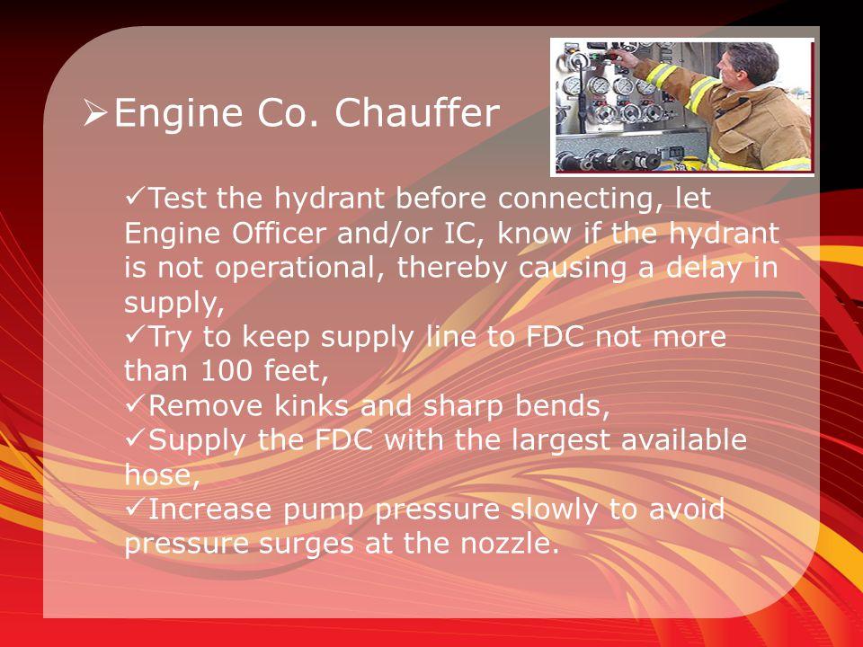 Engine Co. Chauffer