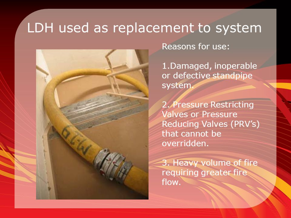 LDH used as replacement to system