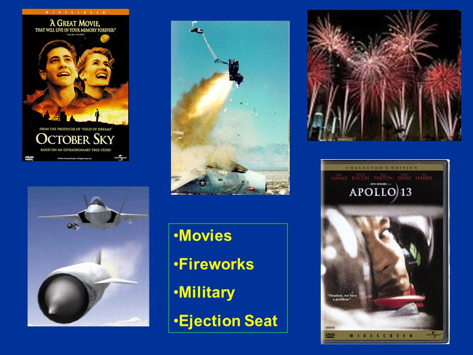 Movies Fireworks Military Ejection Seat